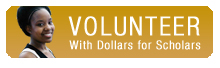 Volunteer With  Dollars for Scholars!