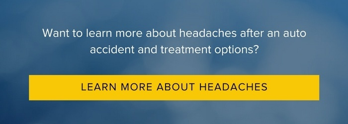 Headaches after a car accident