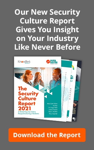 Measure to Improve - Security Culture Report 2020