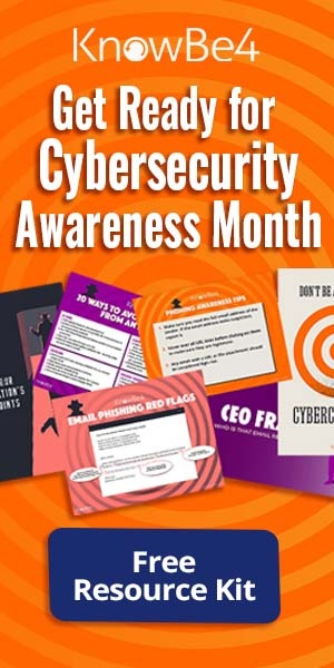 Cybersecurity Awareness Month 2021 Free Resource Kit