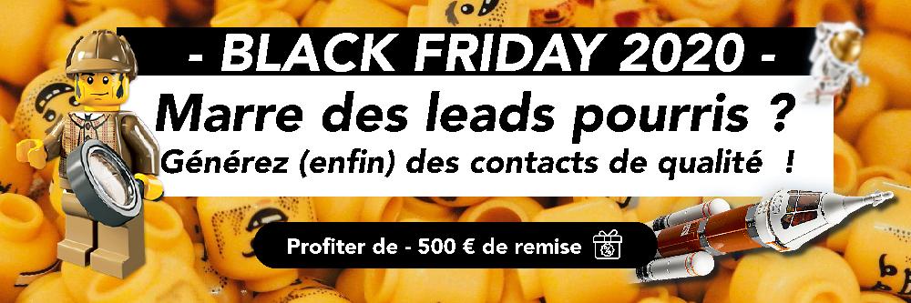 Offre Black Friday Lead Generator 2020