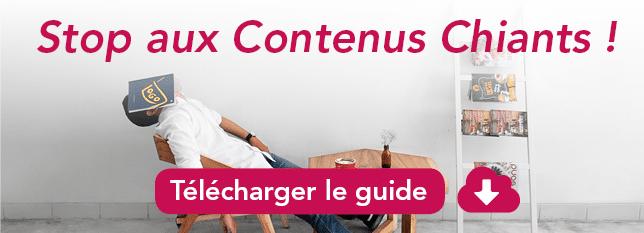 CTA guide stop aux contenus chiants