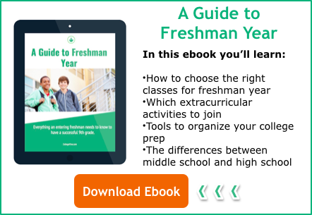 Download a Guide to Freshman Year