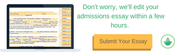 Submit Your College Essay