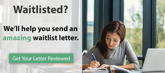 Get your waitlist letter reviewed