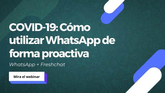 WhatsApp + Freshchat