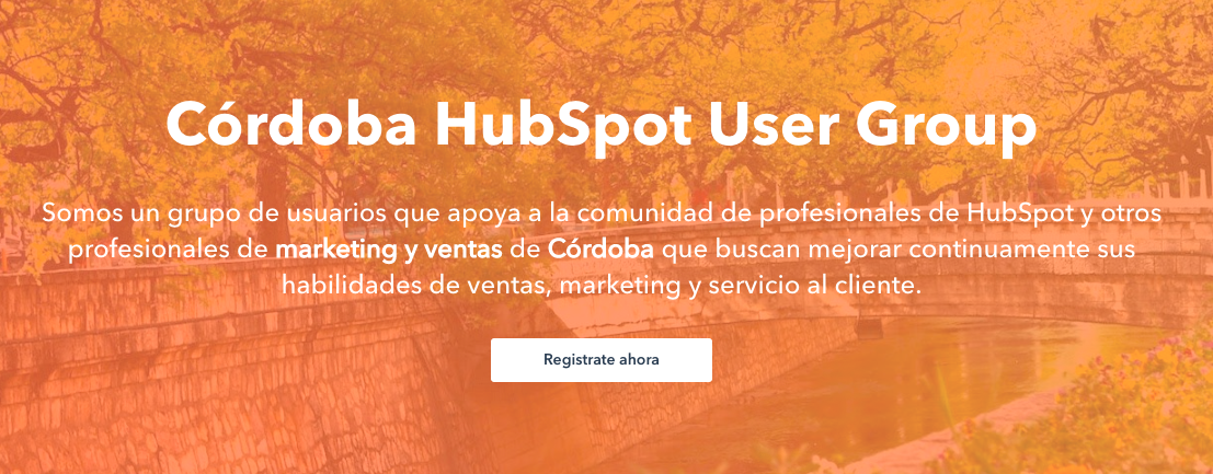 HubSpot User Group Córdoba