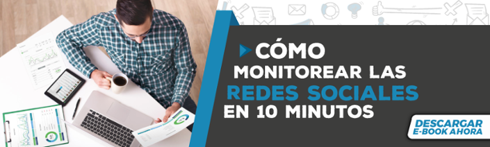 Descarga el ebook de como monitorear las redes en 10 minutos