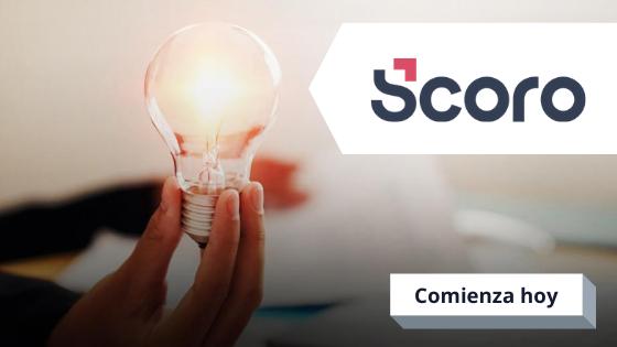 Crear cuenta gratuita de Scoro