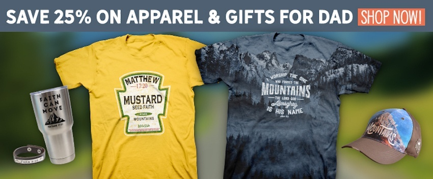 Shop Now at Kerusso.com to get 25% off apparel and gifts for Dad for Father's Day!