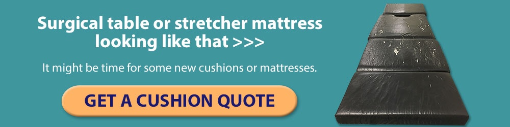 What are the biggest hazards to your surgical table or stretcher mattresses