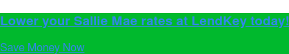 Lower your Sallie Mae rates at LendKey today! Save Money Now