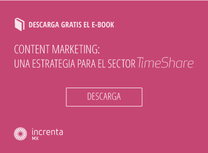 Timeshare - Ebook content marketing una estrategia para el timeshare 441x302