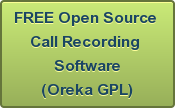 FREE Open Source  Call Recording  Software (Oreka GPL)