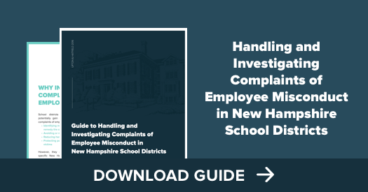 Handling and Investigating Employee Misconduct Complaints