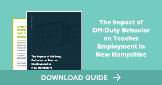Download the Impact of Off-Duty Behavior on Teacher Employment Guide