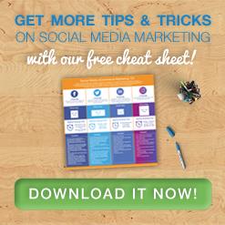 social media ecommerce marketing free cheat sheet