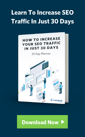 Increase your SEO traffic in 30 days