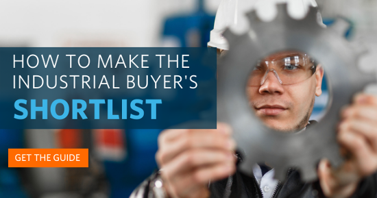 How to make the industrial buyer's shortlist