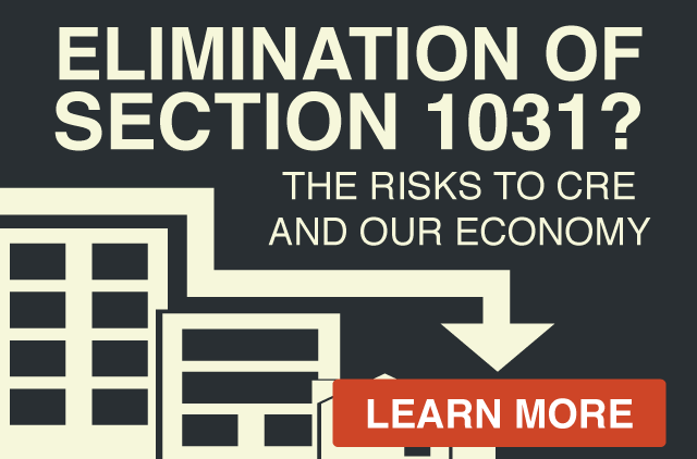 Elimination of Section 1031 and the risks to CRE and the economy