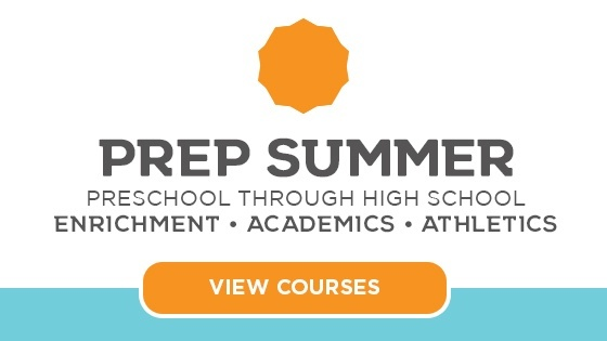 Register Today: Prep Summer