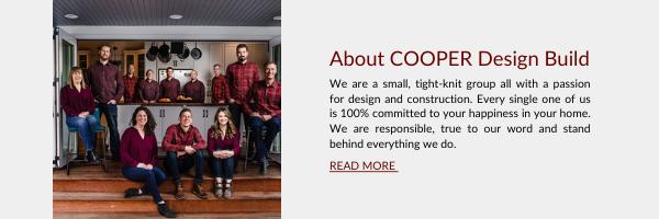 About Cooper Design Build Blog CTA