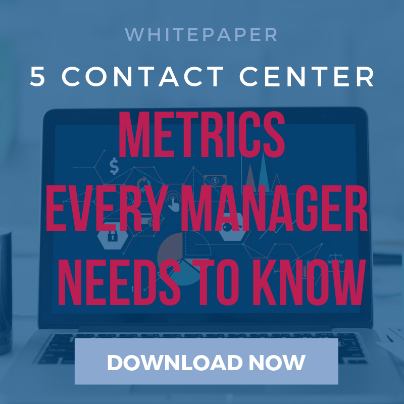 Whitepaper: 5 metrics every contact center manager should know