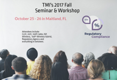 TMI Fall 2017 Seminar & Workshop