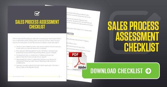 sales process assesment