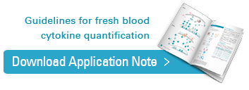 Download cytokine release from fresh blood samples application notes