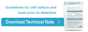 Guidelines for cell culture and Lysis to prior detection, Download tehcnical note