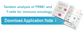 Download application note, tandem analysis of PBMC and T-Cells for immuno-oncology
