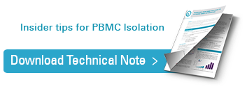 Download Insider tips for PBMC isolation Technical Note