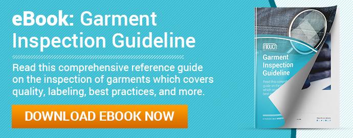 garment inspection guideline