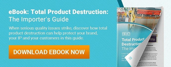 total product destruction the importers guide