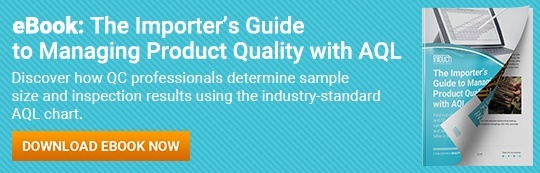 The Importer's Guide to Managing Product Quality with AQL eBook