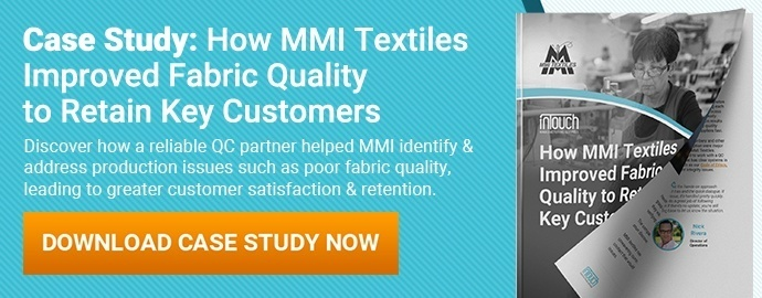 How MMI Textiles Improved Fabric Quality to Retain Key Customers case study