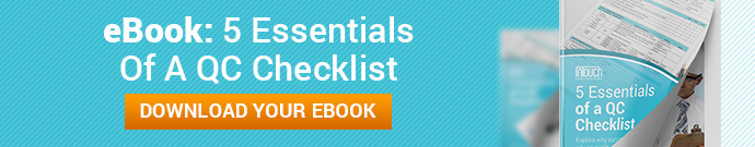 '5 Essentials of a QC Checklist' - eBook