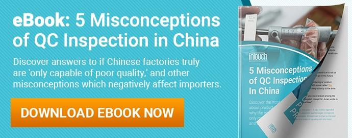 5 Misconceptions of QC Inspection in China