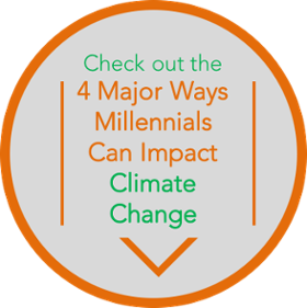 Check out the 4 major ways millennials can impact climate change