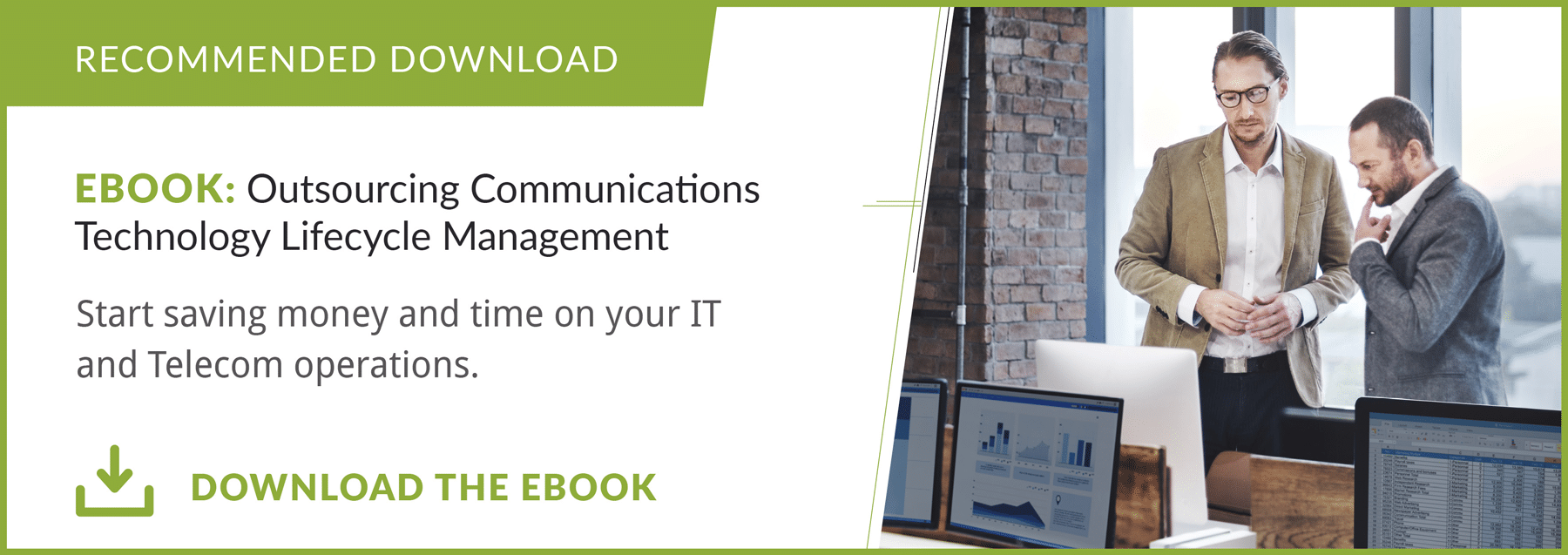eBook: Outsourcing Communications Technology Lifecycle Management