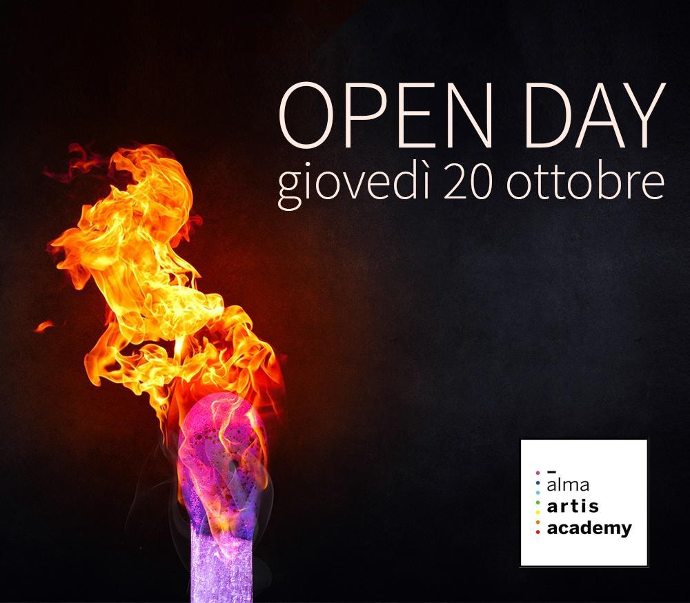 Open day 20 ottobre 2016 Alma artis academy