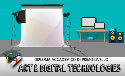 Diploma accademico di I livello Art & digital Technologies