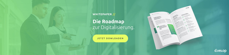 Whitepaper Roadmap zur Digitalisierung herunterladen