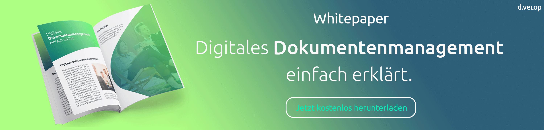 Whitepaper Digitales Dokumentenmanagement - DMS-Software