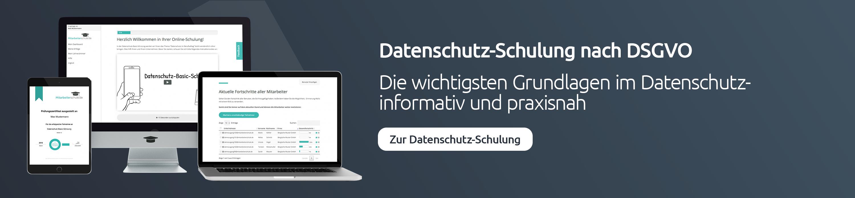 Datenschutz-Schulung Mitarbeiter