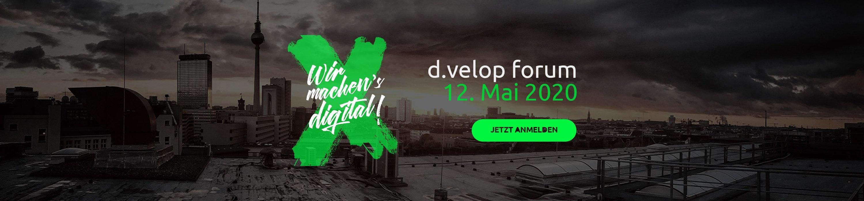 5 Tipps für das d.velop forum 2019