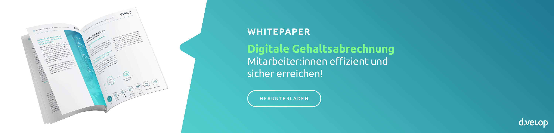 Whitepaper Digitale Gehaltsabrechnung
