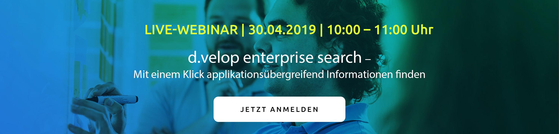 Webinar Enterprise search