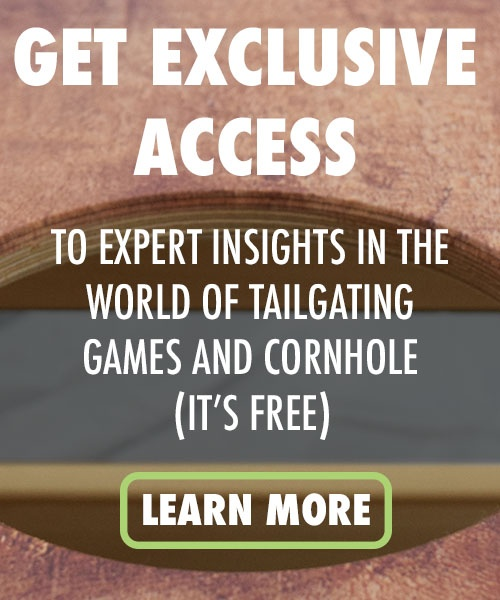 Slick Woody's Cornhole Company exclusive access (mobile CTA)